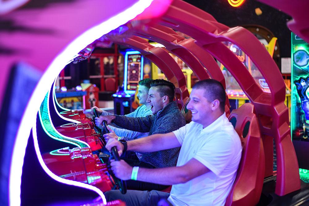 Boondocks - Group Playing Arcade Game