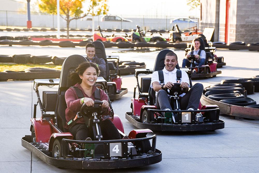 Boondocks - Group Go Karting