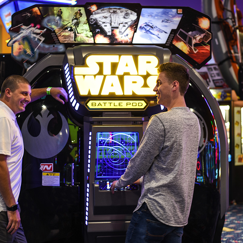 Boondocks - Arcade - Playing Star Wars Game