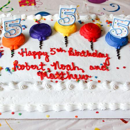 Boondocks - Birthday Sheet Cake