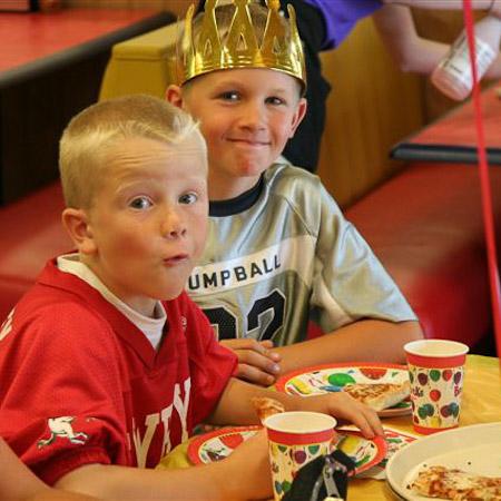 Boondocks - Two Boys At Birthday Party