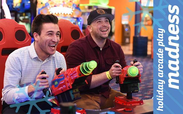 Holiday Arcade Play Madness