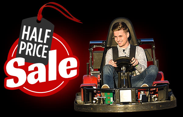Black Friday Half Price Sale